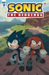 Sonic the Hedgehog #10 1:10 Incentive Variant