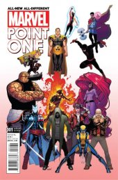 All-New All-Different Marvel Point One #1 Marquez B Variant