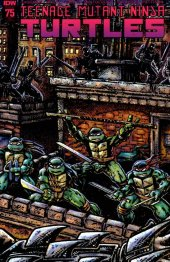 Teenage Mutant Ninja Turtles #75 Fan Club Variant