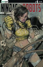 Ninjas & Robots #1 Cover B Gieni