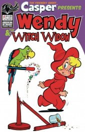 Casper the Friendly Ghost Presents: Wendy & The Witch Window #1 Limited-Edition Retro Animation variant