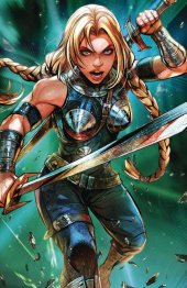 War of the Realms #4 Marvel Battle Lines (Maxx Lim) Variant