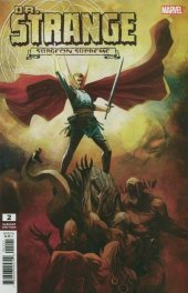 Dr. Strange #2 1:25 Variant Cover by Mike Huddleston