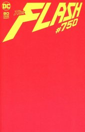 The Flash #750 Blank Variant Edition