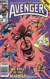 The Avengers #265 Newsstand Edition