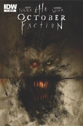 The October Faction #7 Subscription Variant
