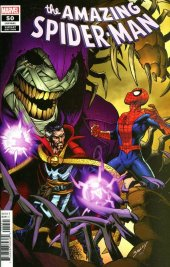 The Amazing Spider-Man #50 Variant Cover by Mark Bagley