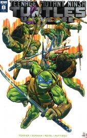 Teenage Mutant Ninja Turtles: Universe #8 Cover C Hugo Petrus