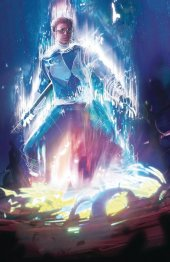 Mighty Morphin Power Rangers #40 Showcase Exclusive Griffiths Blue Ranger Variant