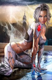 White Widow #4 Knowhere Toys Convention Exclusives/Greg Horn Art NYCC 2019 Naughty Variant