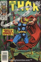 The Mighty Thor #464 Newsstand Edition