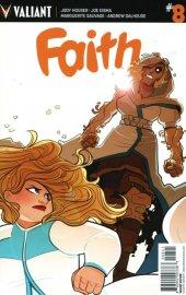 Faith #8 Cover D St Onge