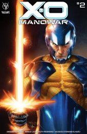 X-O Manowar #2 Cover B Diaz