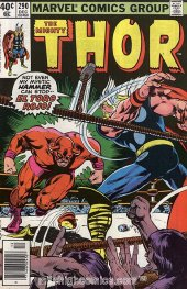 The Mighty Thor #290 Newsstand Edition