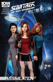 Star Trek: The Next Generation/Doctor Who: Assimilation2 #5 Incentive Sharp Brothers Variant
