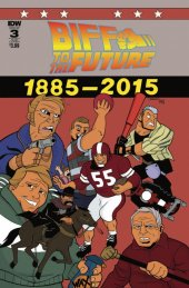Back to the Future: Biff to the Future #3 Subscription Variant
