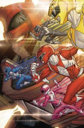 Go Go Power Rangers: Back to School #1 Meyers Cover