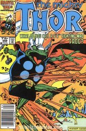 The Mighty Thor #366 Newsstand Edition