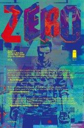 Zero #1 2nd Printing