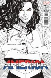 America #1 2nd Printing McKelvie Variant