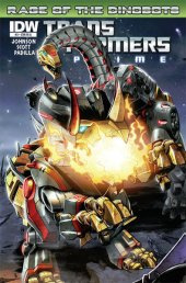 Transformers: Prime - Rage of the Dinobots #3 1:25 Incentive A