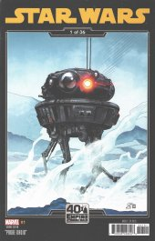 Star Wars #1 Empire Strikes Back Variant Cover by Chris Sprouse