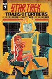 Star Trek vs. Transformers #4 1:10 Incentive Variant