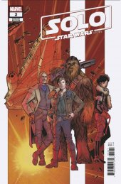Solo: A Star Wars Story #2 1:25 Carlos Pacheco Variant