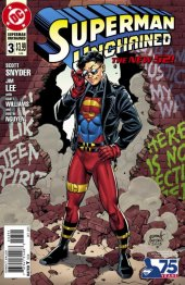Superman Unchained #3 75th Anniversary Superman Reborn Cover