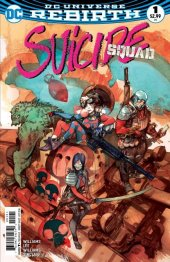 Suicide Squad #1 Greg Tocchino Fried Pie Variant