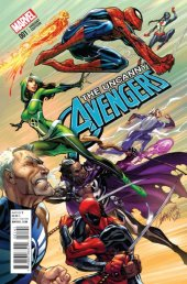 Uncanny Avengers #1 Campbell Variant
