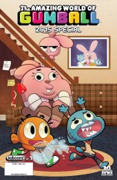 The Amazing World of Gumball 2015 Special #1 Cover B
