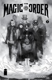 The Magic Order #1 Coipel Surprise Comics Exclusive Variant