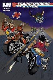 Transformers vs. G.I. Joe #11 Subscription Variant