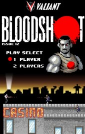 Bloodshot #12 Orderall 8-bit Variant