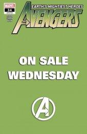 Avengers #34 Wednesday Variant