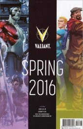 Valiant Spring 2016 Preview #1