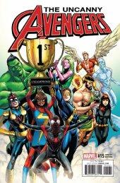 Uncanny Avengers #15 Champions Variant