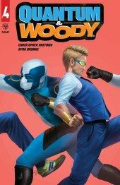 Quantum & Woody #4 Cover B Rahzzah