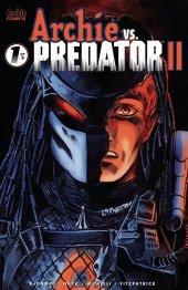 Archie Vs. Predator II #1 Cover D Francavilla
