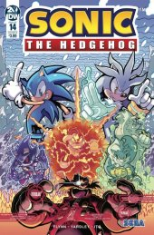 Sonic the Hedgehog #14 Cover B Gray