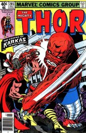 The Mighty Thor #285 Newsstand Edition