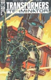 Transformers Vs. Terminator #1 Francesco Francavilla 1:25 Retailer Incentive Variant Cover B