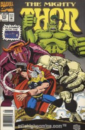 The Mighty Thor #474 Newsstand Edition