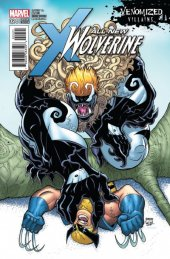 All-New Wolverine #24 Venomized Variant