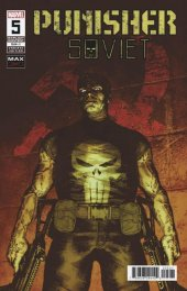 Punisher Soviet #5 1:25 Variant Cover