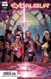Excalibur #1 Original Cover