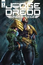 Judge Dredd: Under Siege #1 Cover B Quah