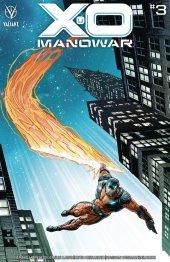 X-O Manowar #3 Cover D 1:25 Cover Weaver