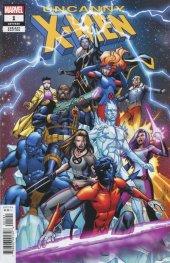 Uncanny X-Men #1 1:25 Carlos Pacheco Variant Edition